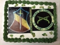 272nd MP Co. Cake & 1FF Patch